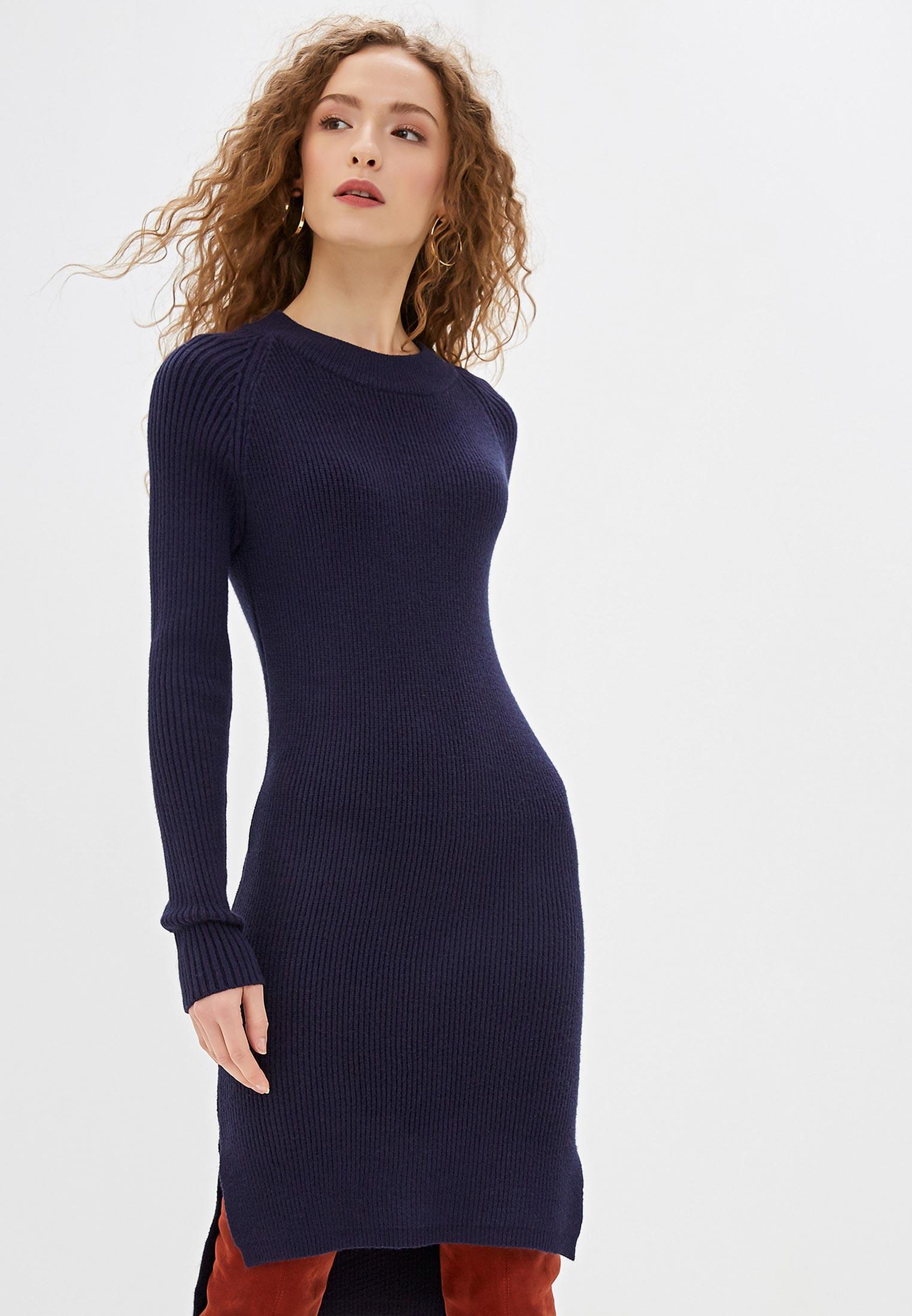 Вязаное платье Bluoltre B21-XJ97821