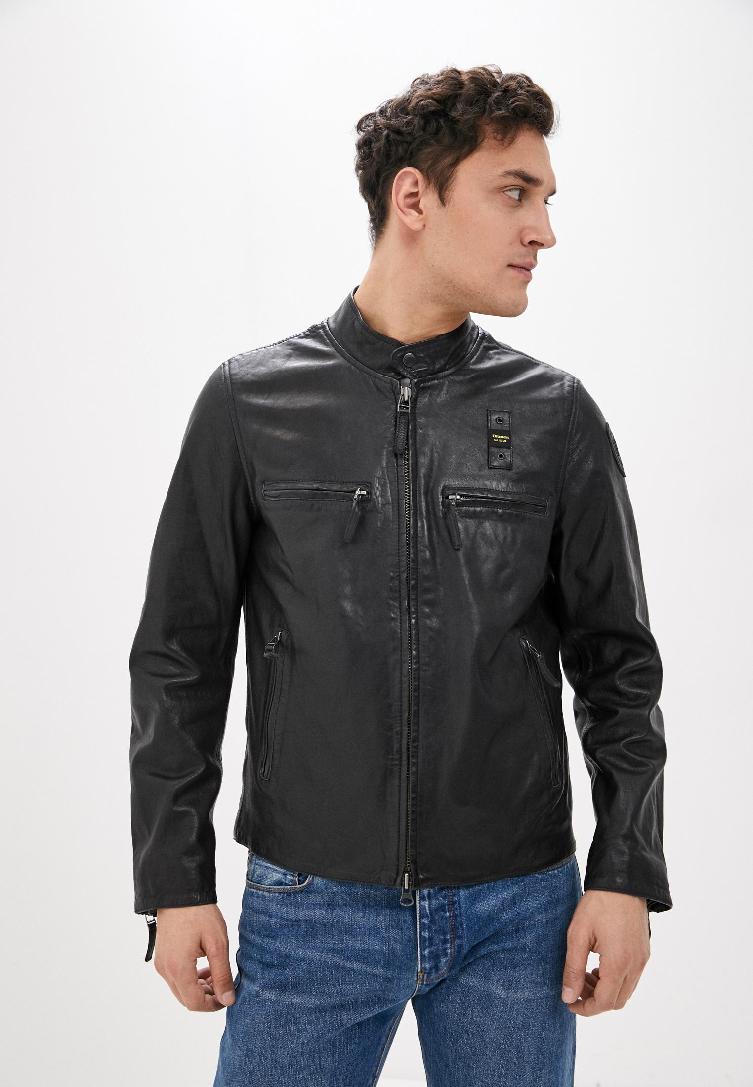 Кожаная куртка Blauer usa 20sblul02169