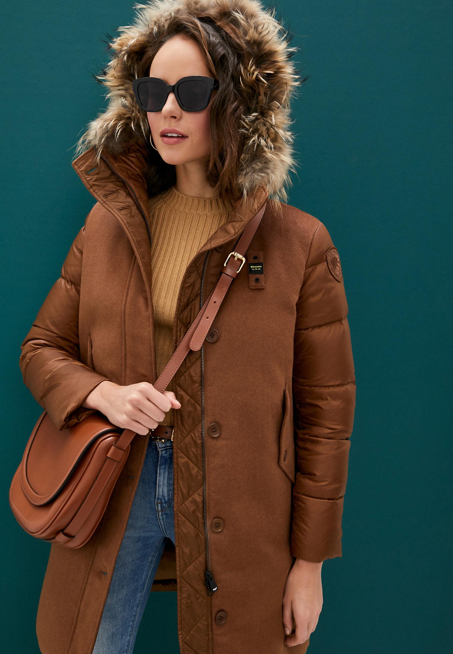 Утепленная куртка Blauer usa 20WBLDK03044: изображение 2