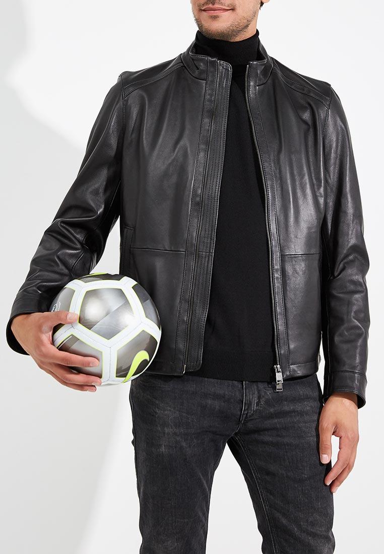 Кожаная куртка Boss Hugo Boss 50387435