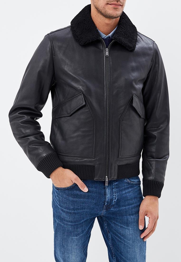 Кожаная куртка Boss Hugo Boss 50393061