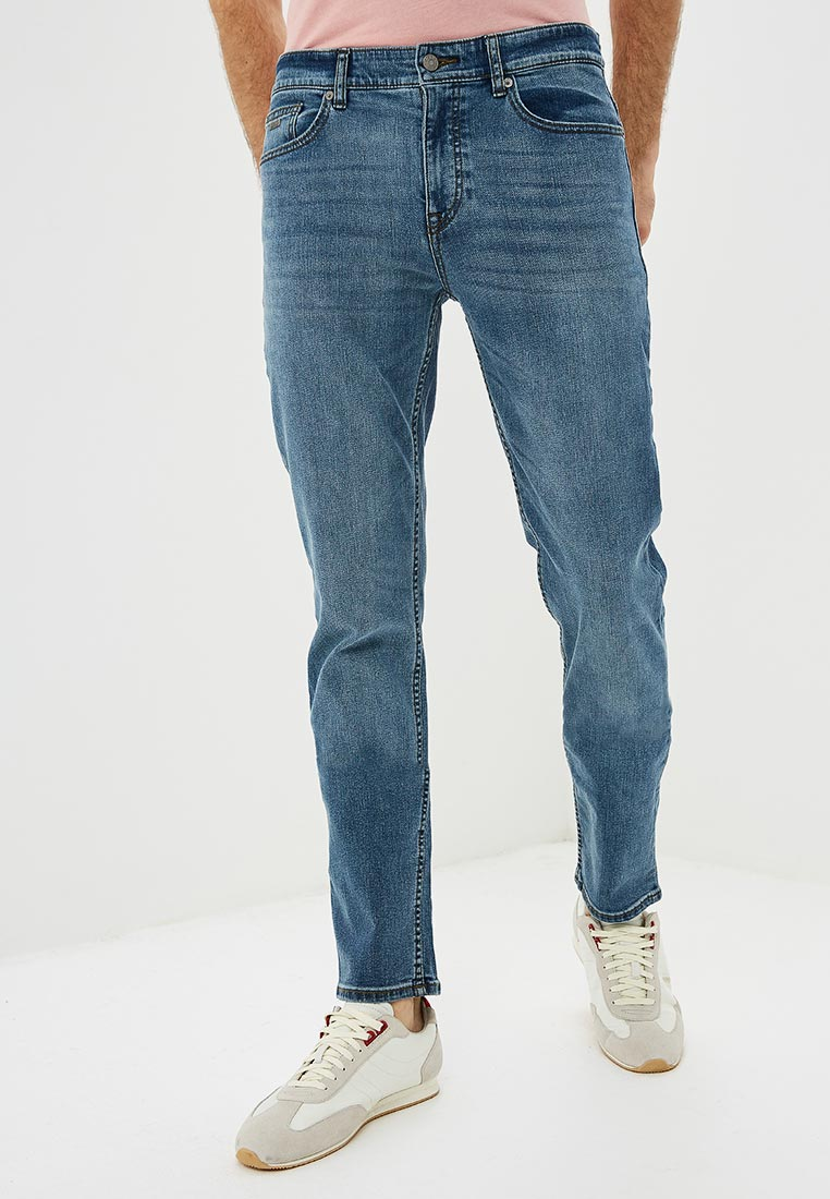 Зауженные джинсы Boss Hugo Boss 50399994