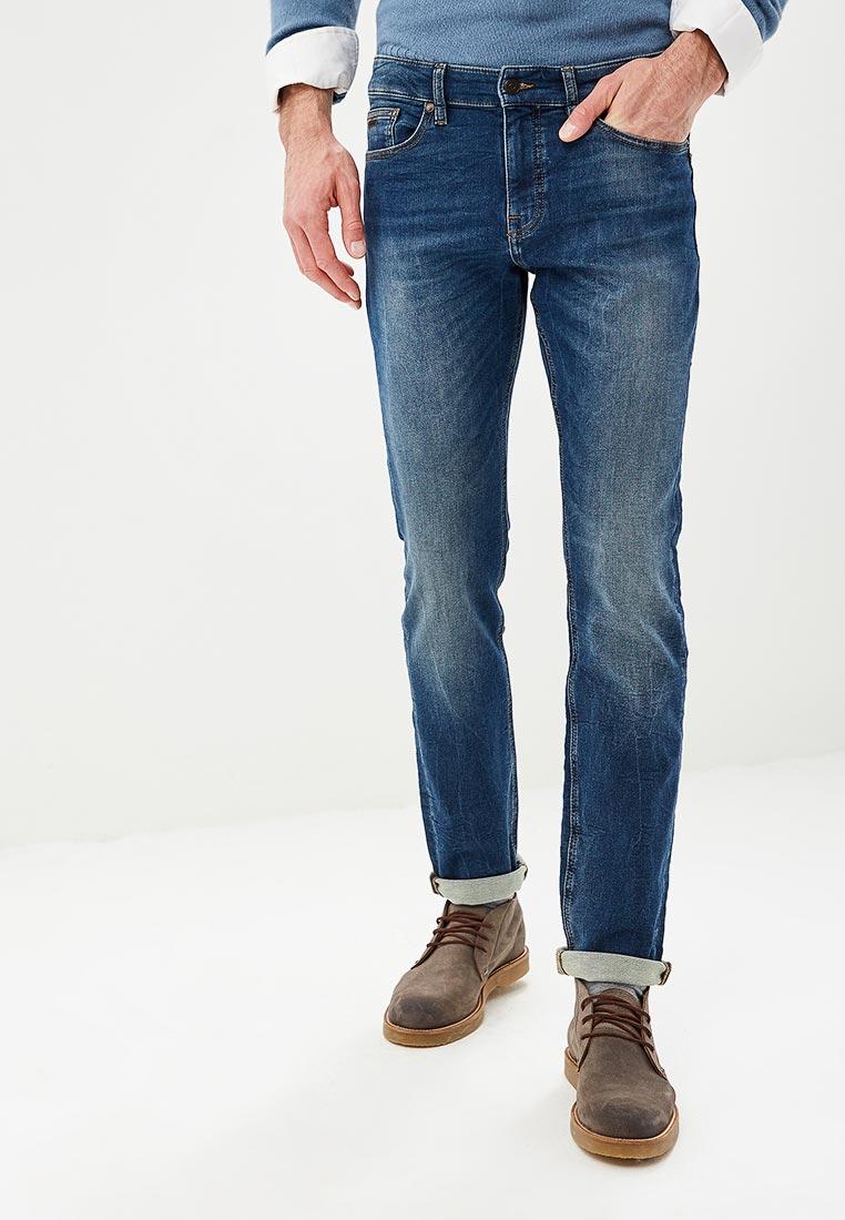 Зауженные джинсы Boss Hugo Boss 50399864