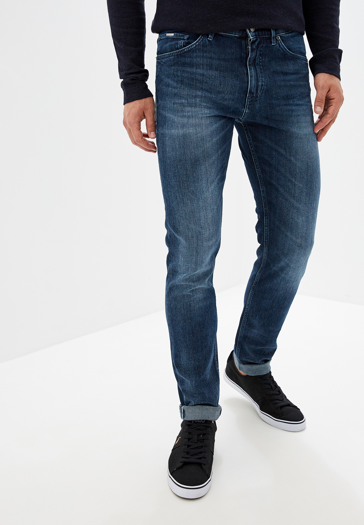 Зауженные джинсы Boss 50415918