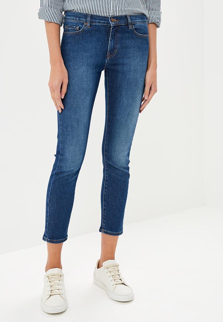 Зауженные джинсы Boss Hugo Boss 50395721