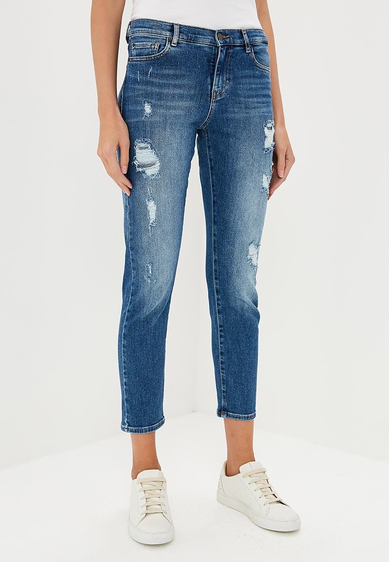 Зауженные джинсы Boss Hugo Boss 50392837