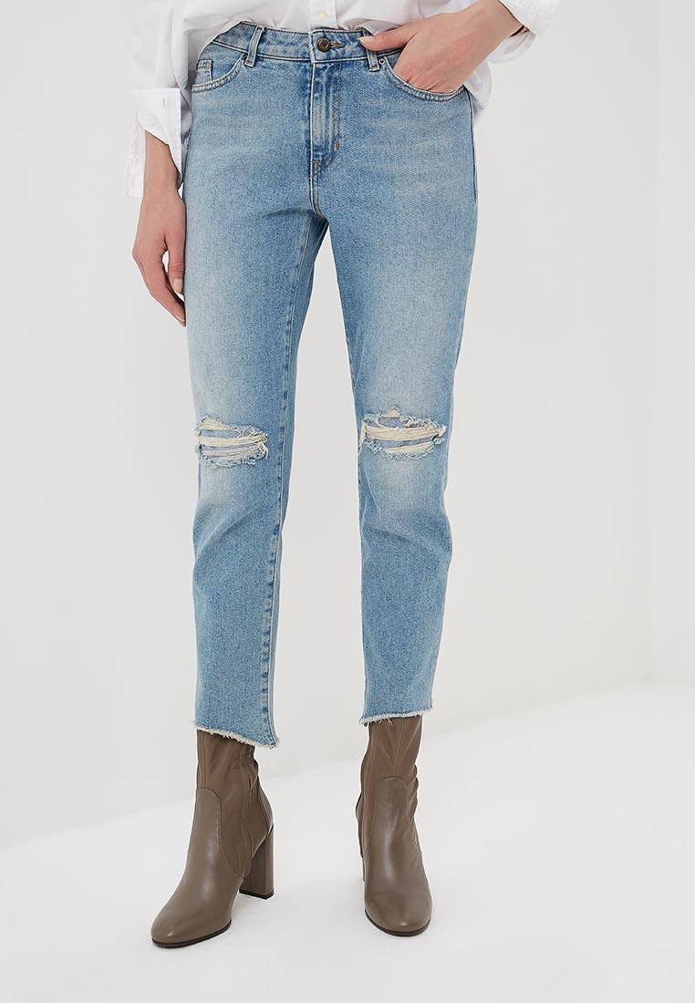 Зауженные джинсы Boss Hugo Boss 50400388