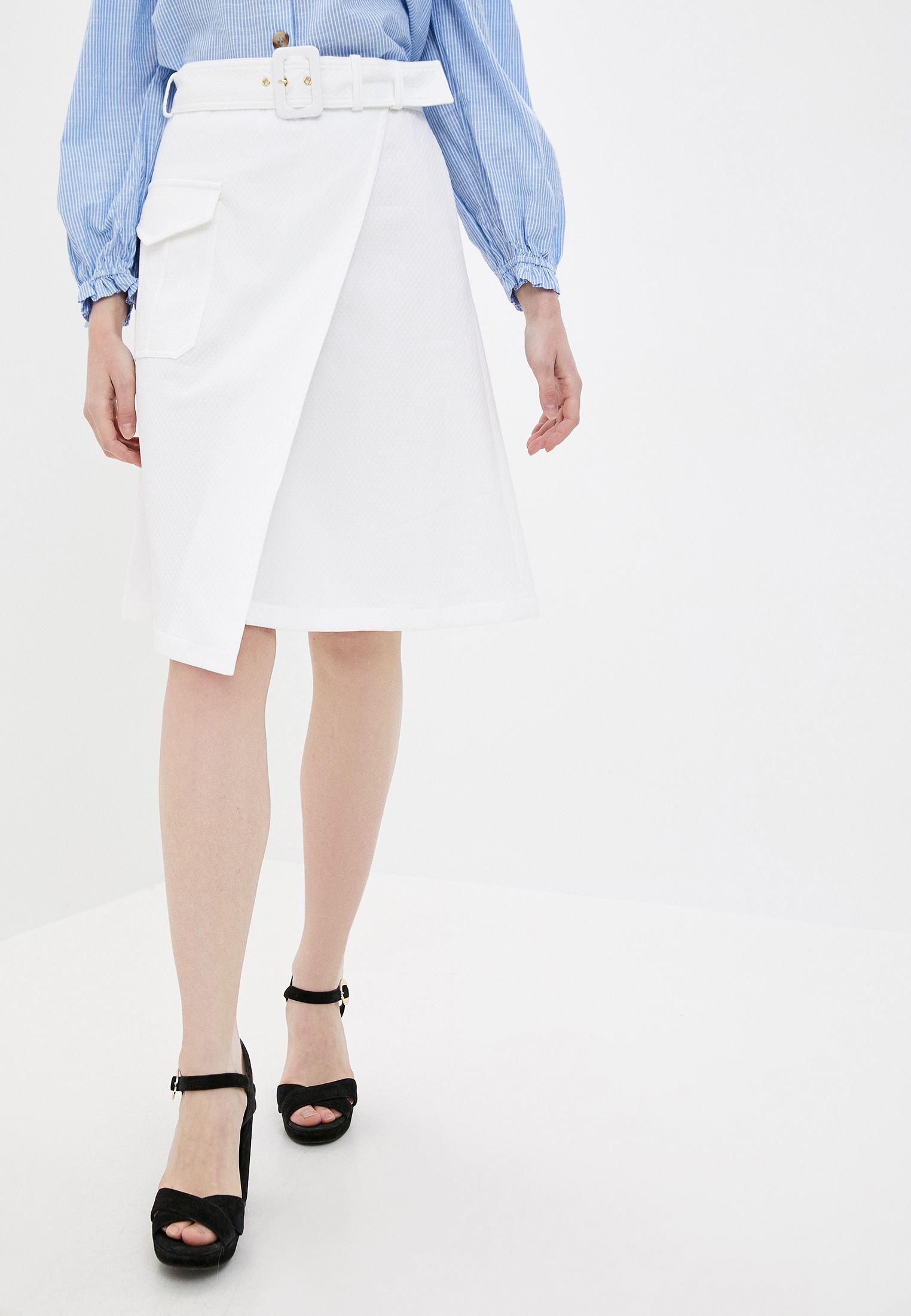Широкая юбка Boutique Moschino A0115