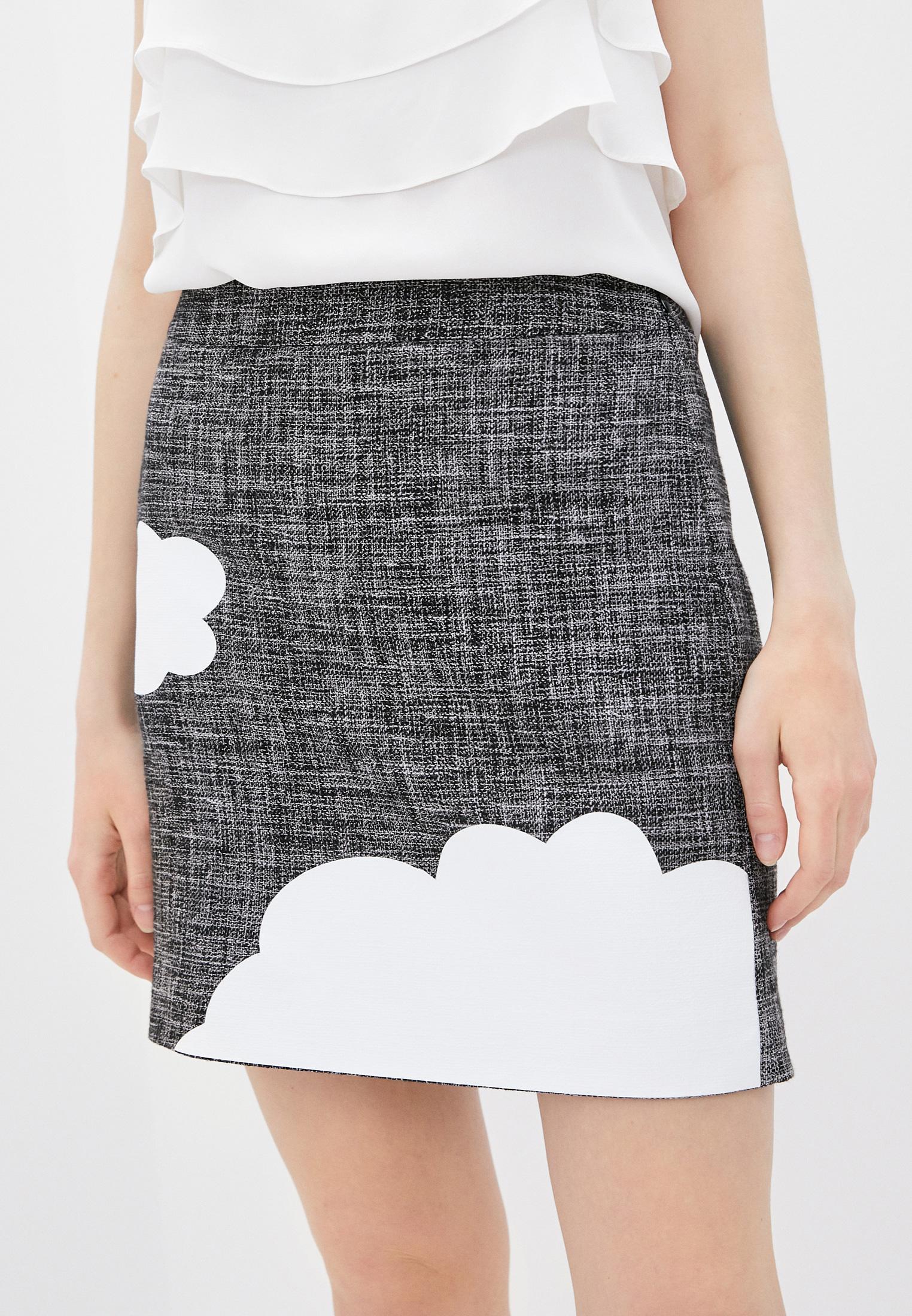 Прямая юбка Boutique Moschino A0108