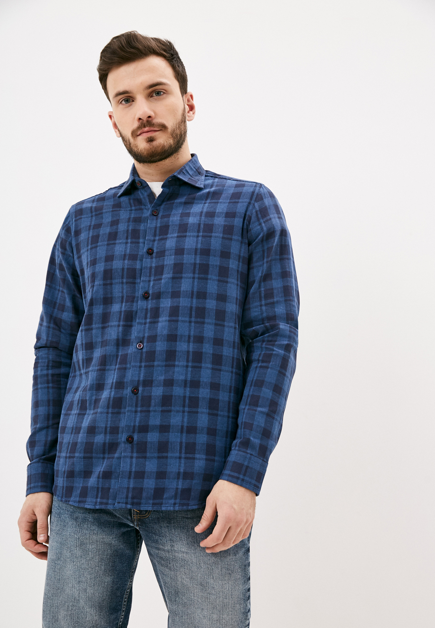 Рубашка с длинным рукавом BOSTON CODE