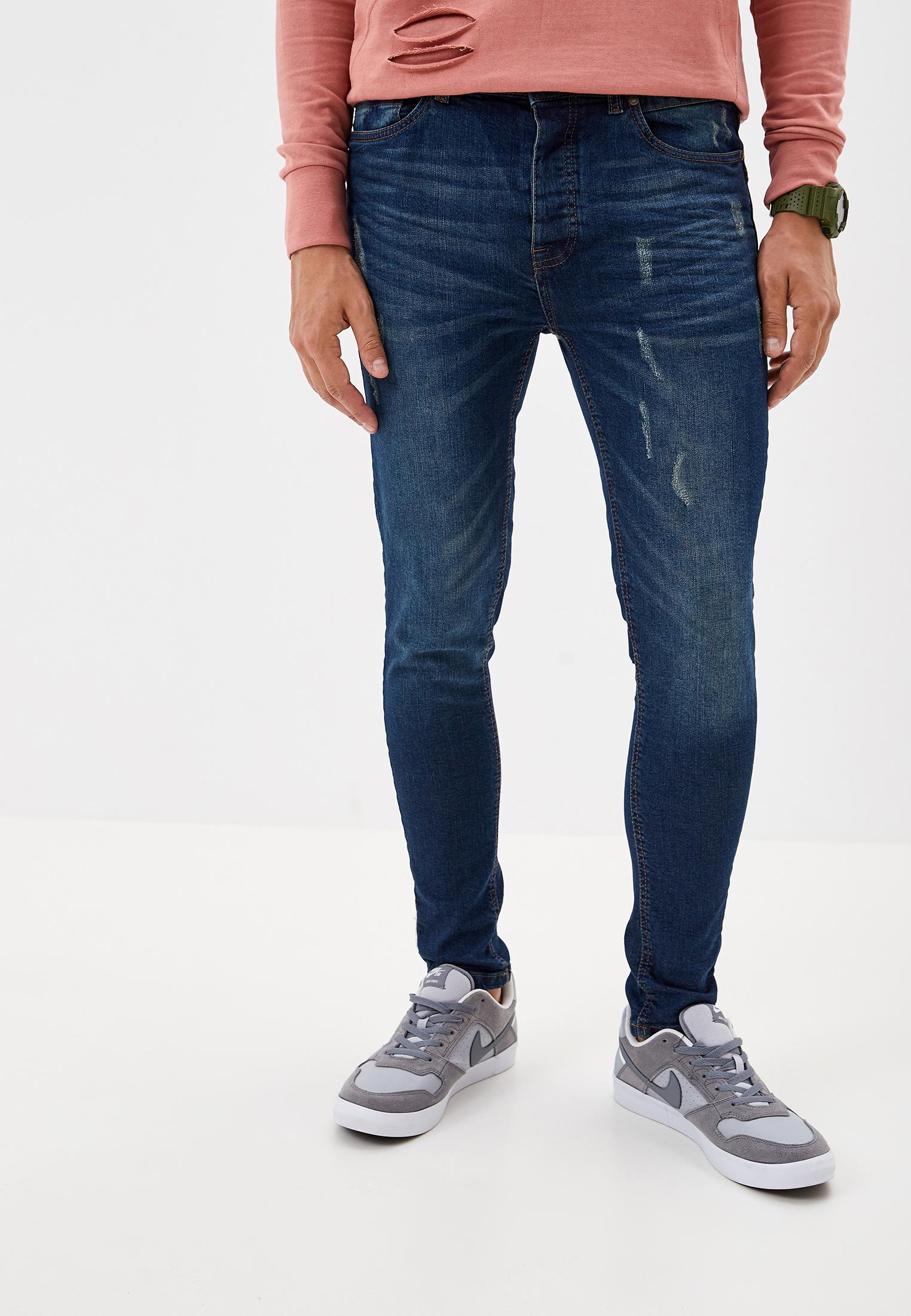 Зауженные джинсы Brave Soul MJN-CHALK