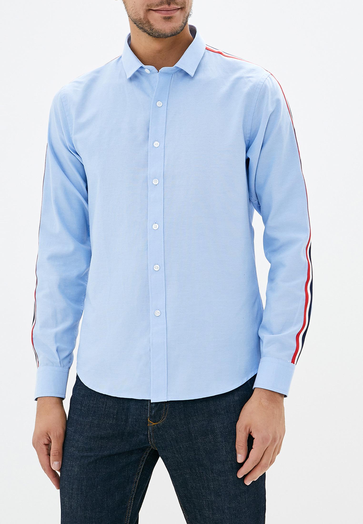 Рубашка с длинным рукавом Brave Soul MSH-514AZURE
