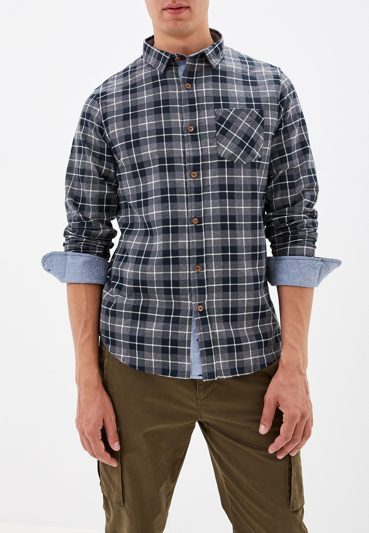 Рубашка с длинным рукавом Brave Soul MSH-69ISSAC