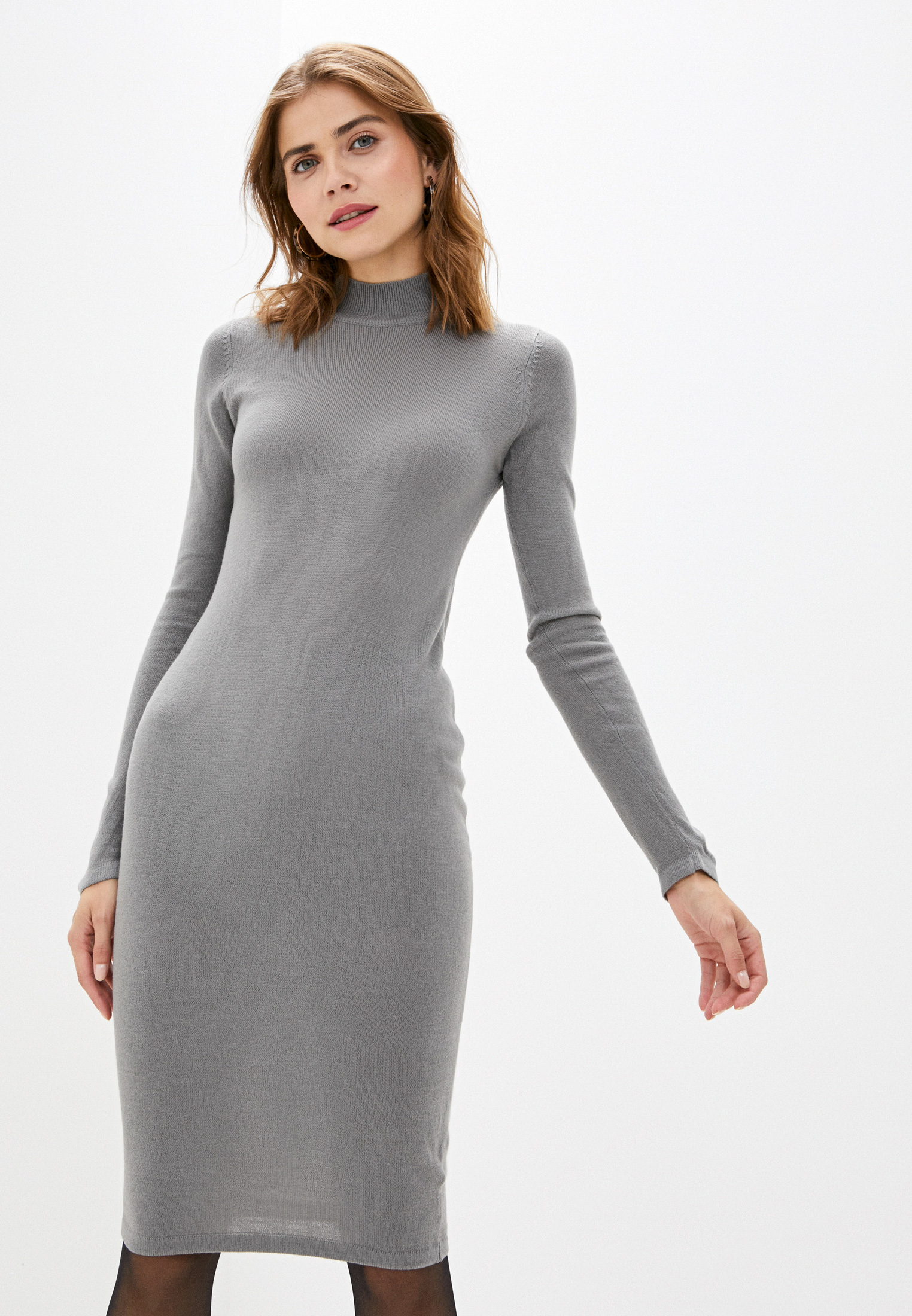 Вязаное платье Brave Soul LKD-364ROUSE