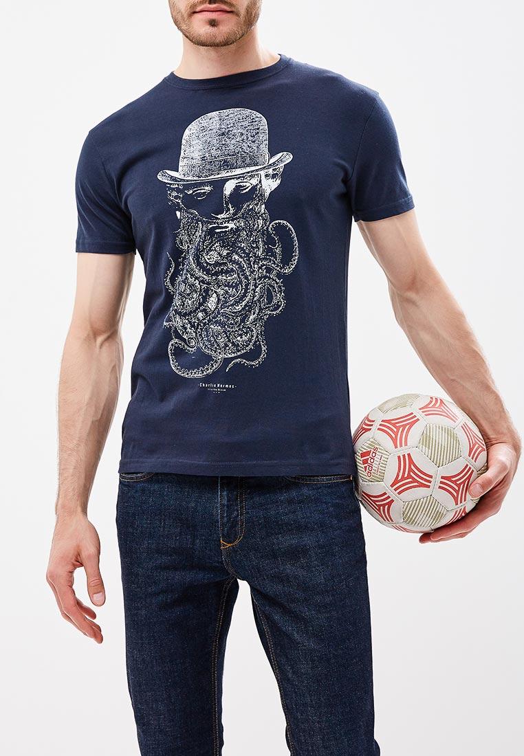 Футболка с коротким рукавом Bruebeck 88410LA
