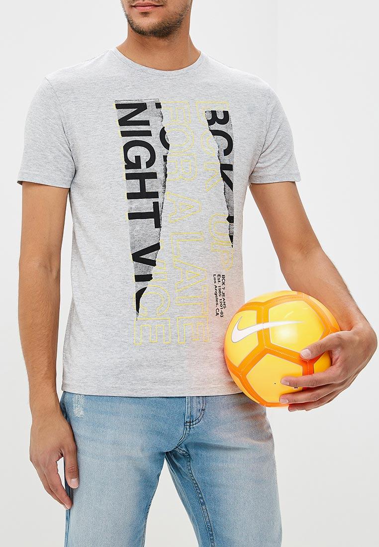 Футболка с коротким рукавом Bruebeck 88340LA