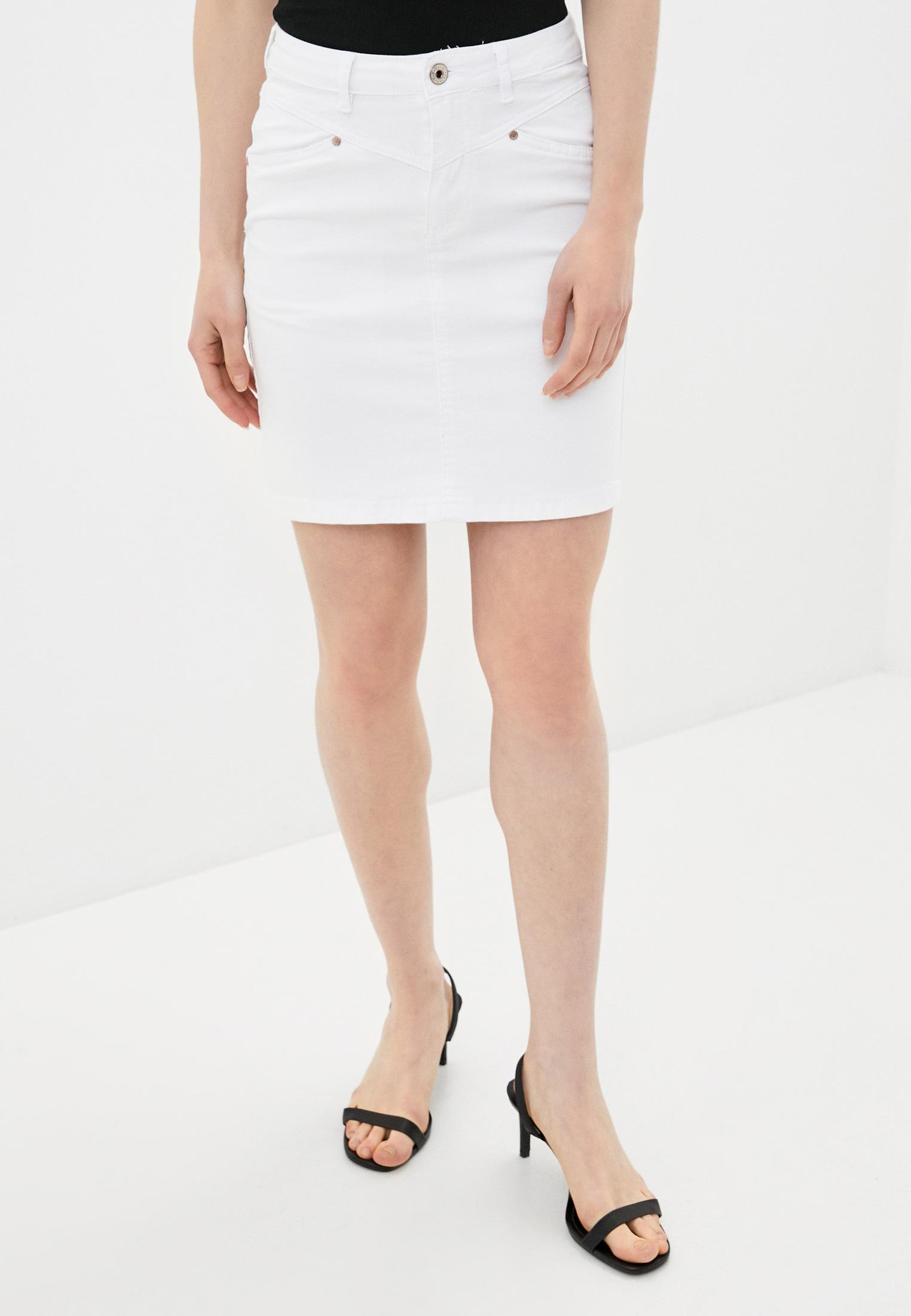 Прямая юбка B.Style NR12-LA622