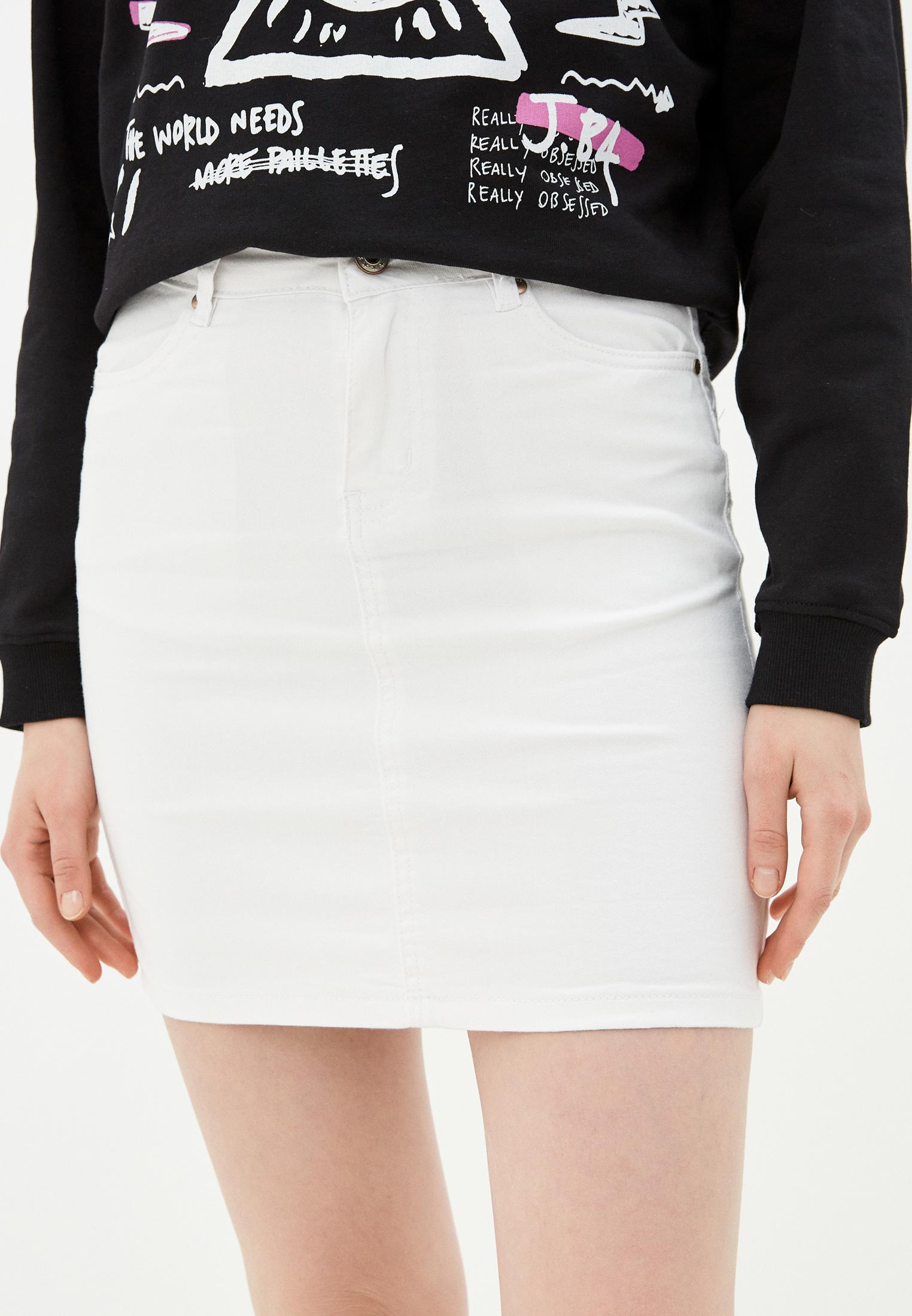 Джинсовая юбка B.Style NR12-LA626