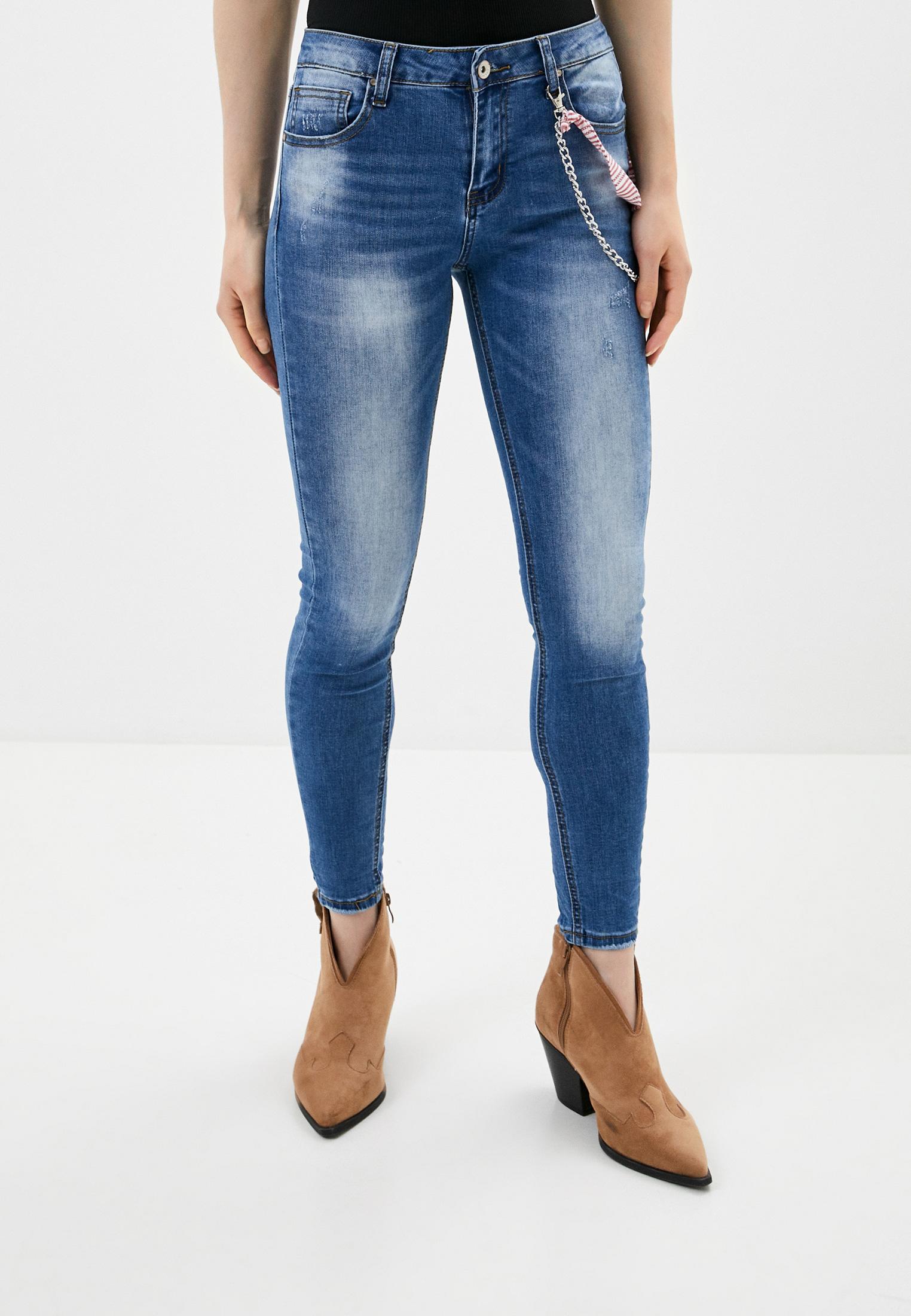 Зауженные джинсы B.Style NR12-FL1478
