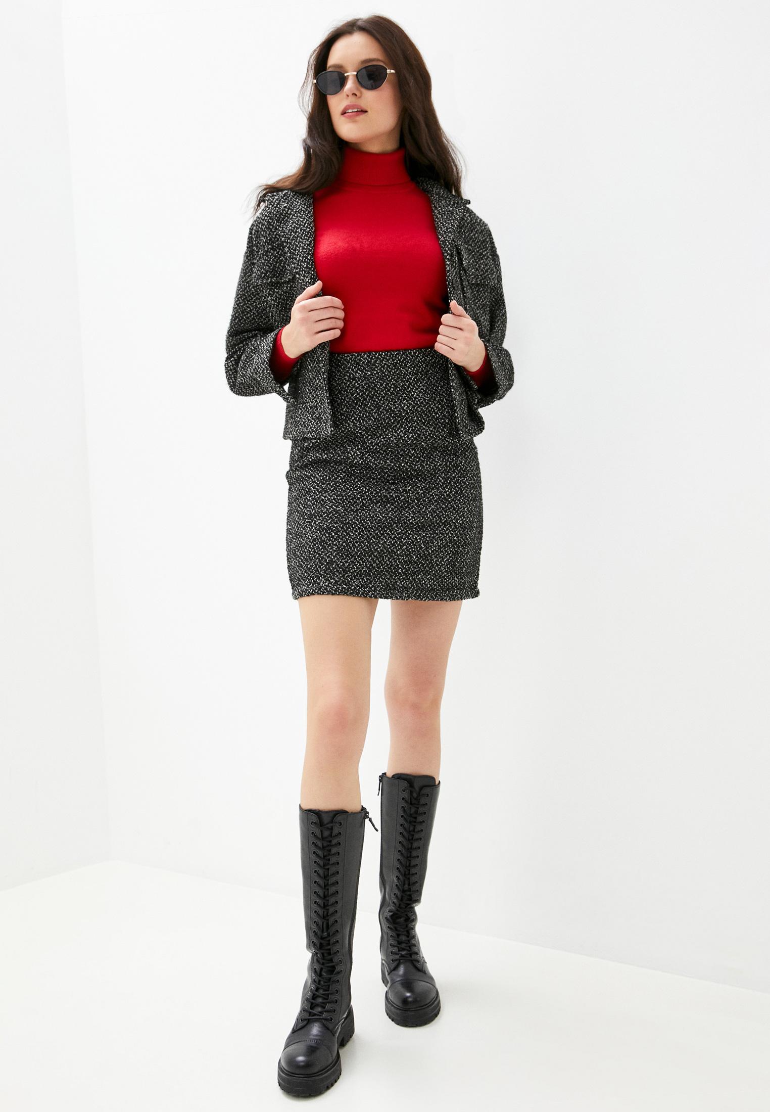 Прямая юбка B.Style NR12-4338: изображение 2