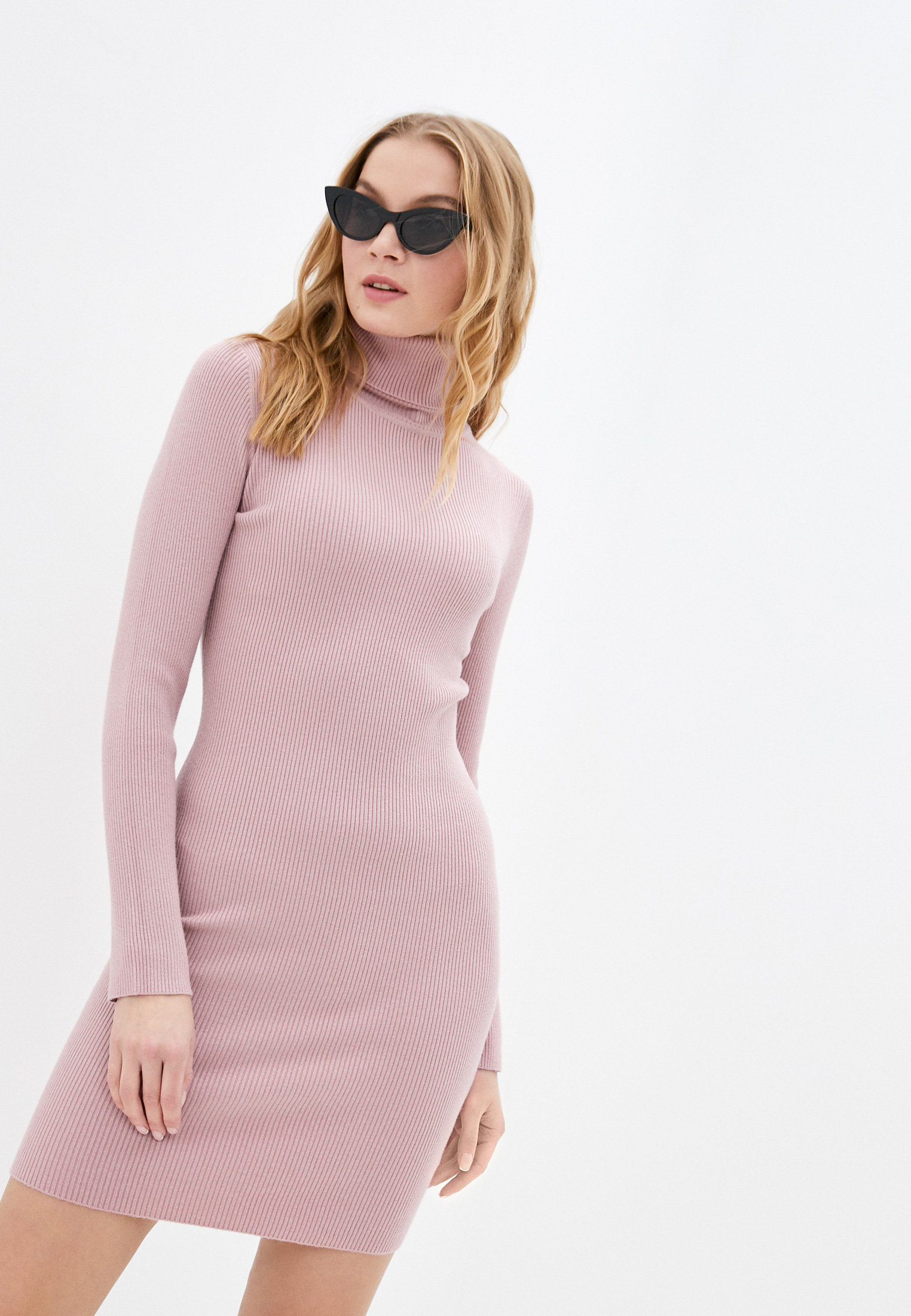 Вязаное платье B.Style NR12-3316