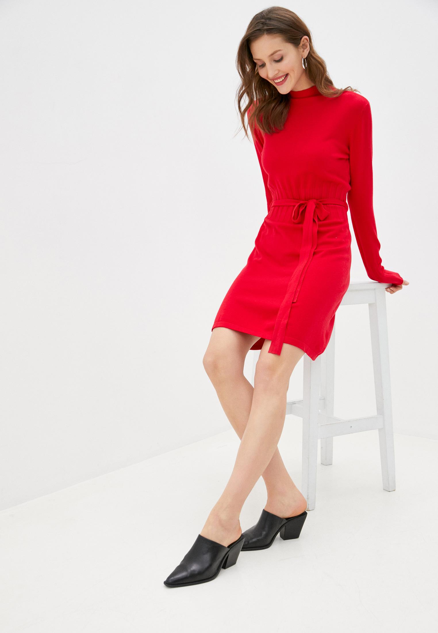 Вязаное платье B.Style NR12-3330: изображение 2