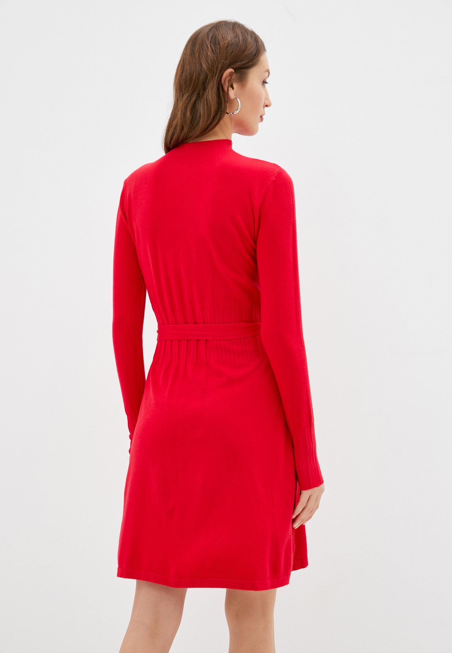 Вязаное платье B.Style NR12-3330: изображение 3