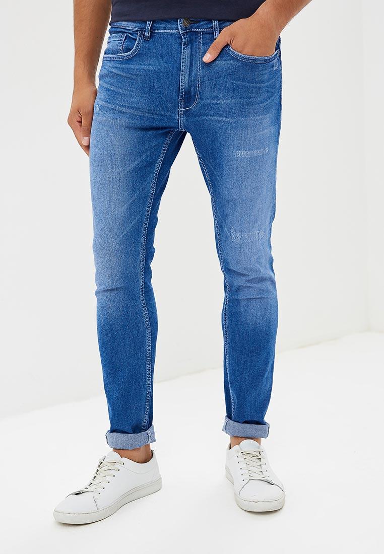 Зауженные джинсы Burton Menswear London 12K01NBLU