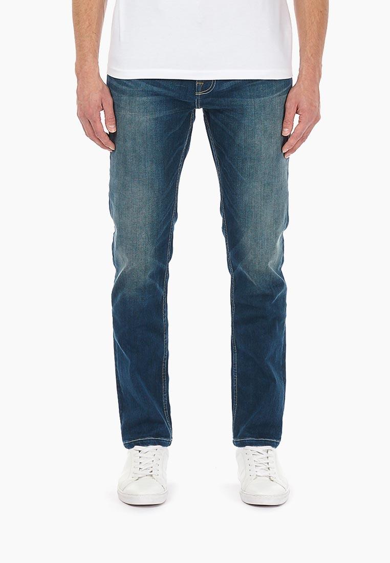 Зауженные джинсы Burton Menswear London 12L10MBLU