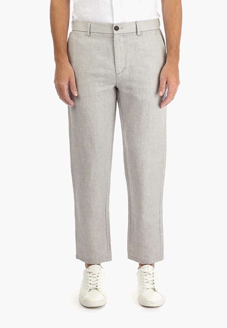 Мужские повседневные брюки Burton Menswear London 23S15MGRY
