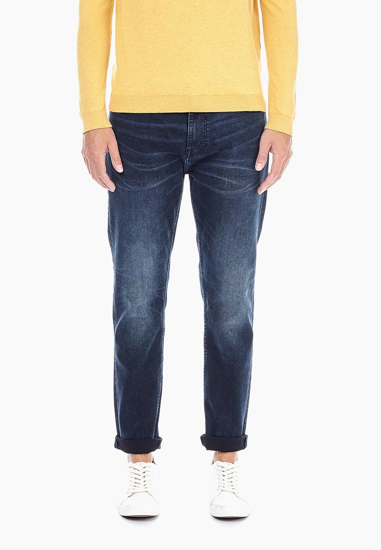 Зауженные джинсы Burton Menswear London 12A05NBLU