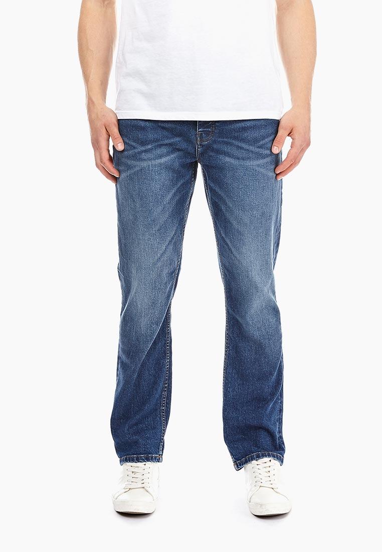 Мужские прямые джинсы Burton Menswear London 12B01NBLU