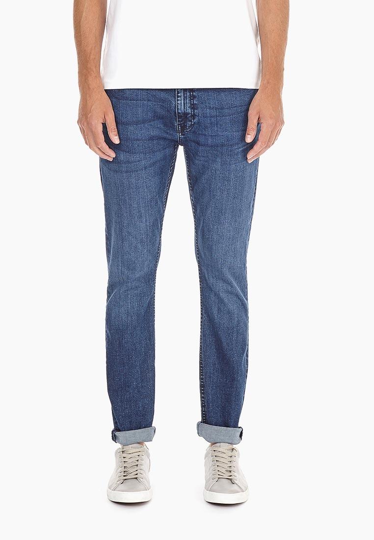 Зауженные джинсы Burton Menswear London 12K06NBLU