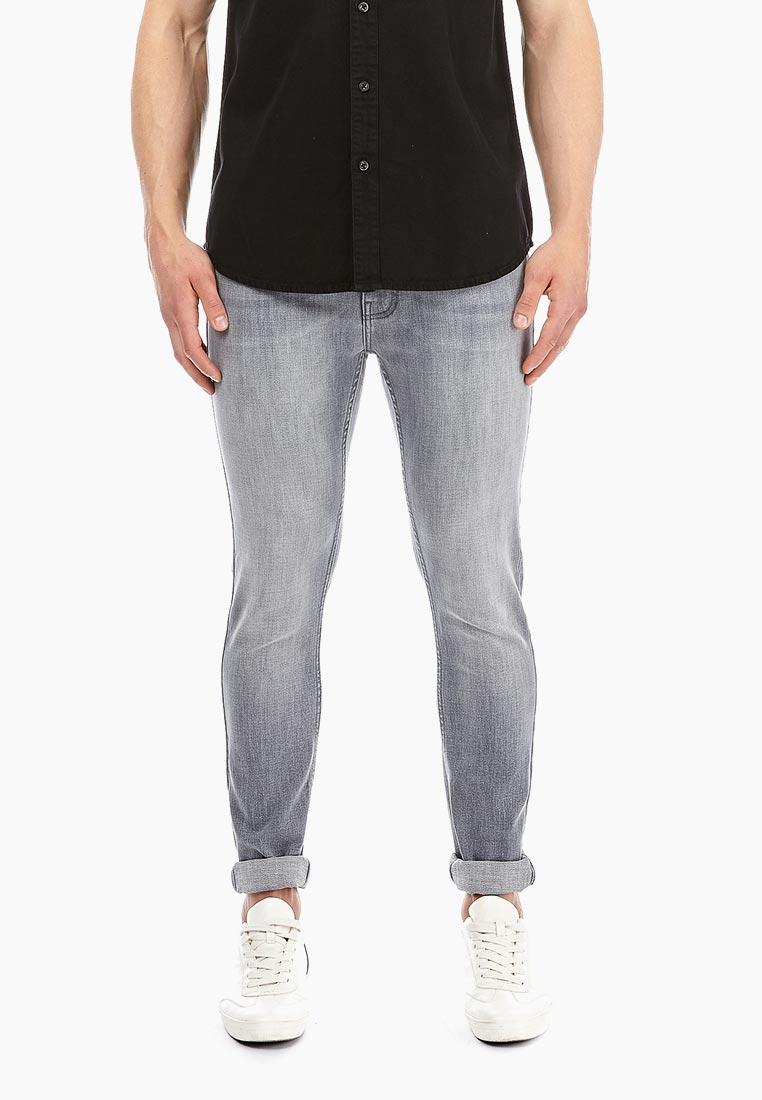 Зауженные джинсы Burton Menswear London 12S01NGRY