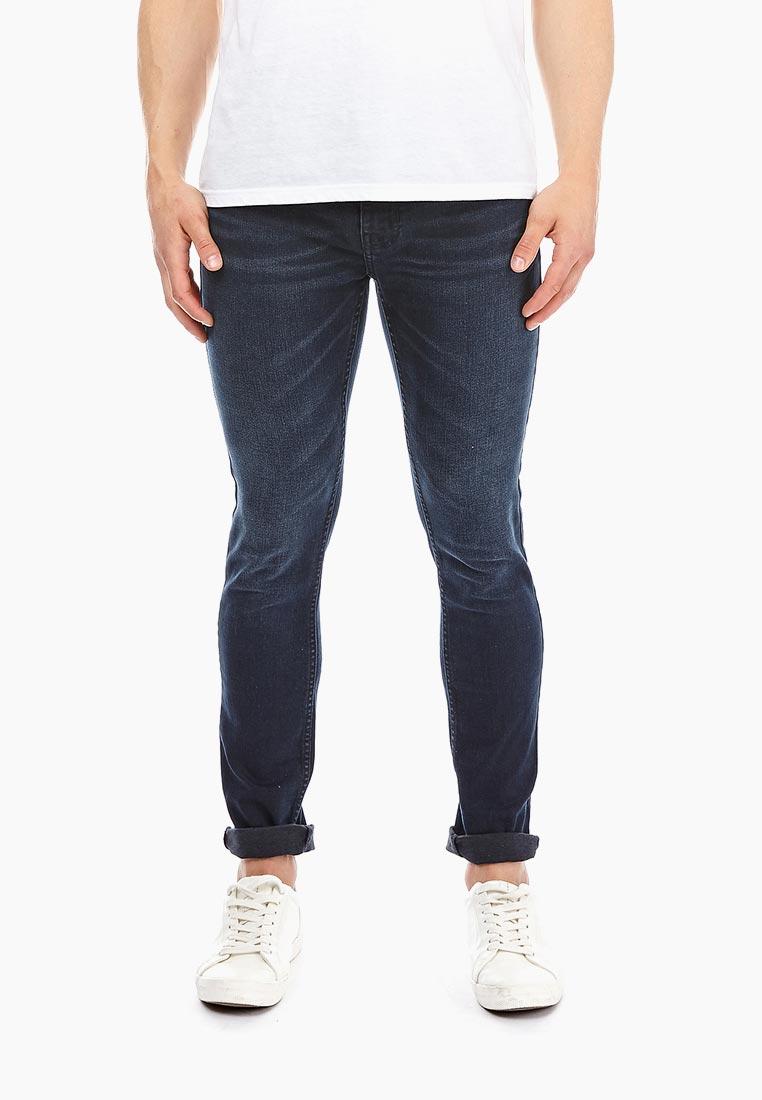 Зауженные джинсы Burton Menswear London 12S03NBLU