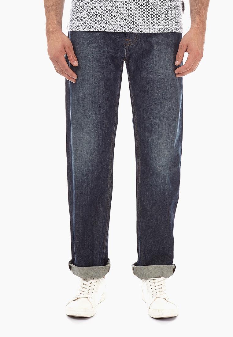 Мужские прямые джинсы Burton Menswear London 12T02NBLU