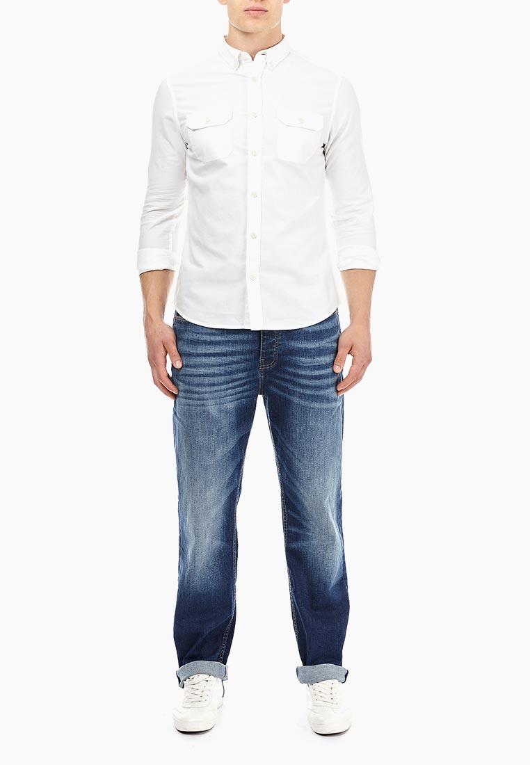 Мужские прямые джинсы Burton Menswear London 12T05NBLU