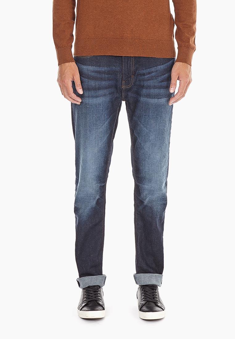 Мужские прямые джинсы Burton Menswear London 12L02NBLU