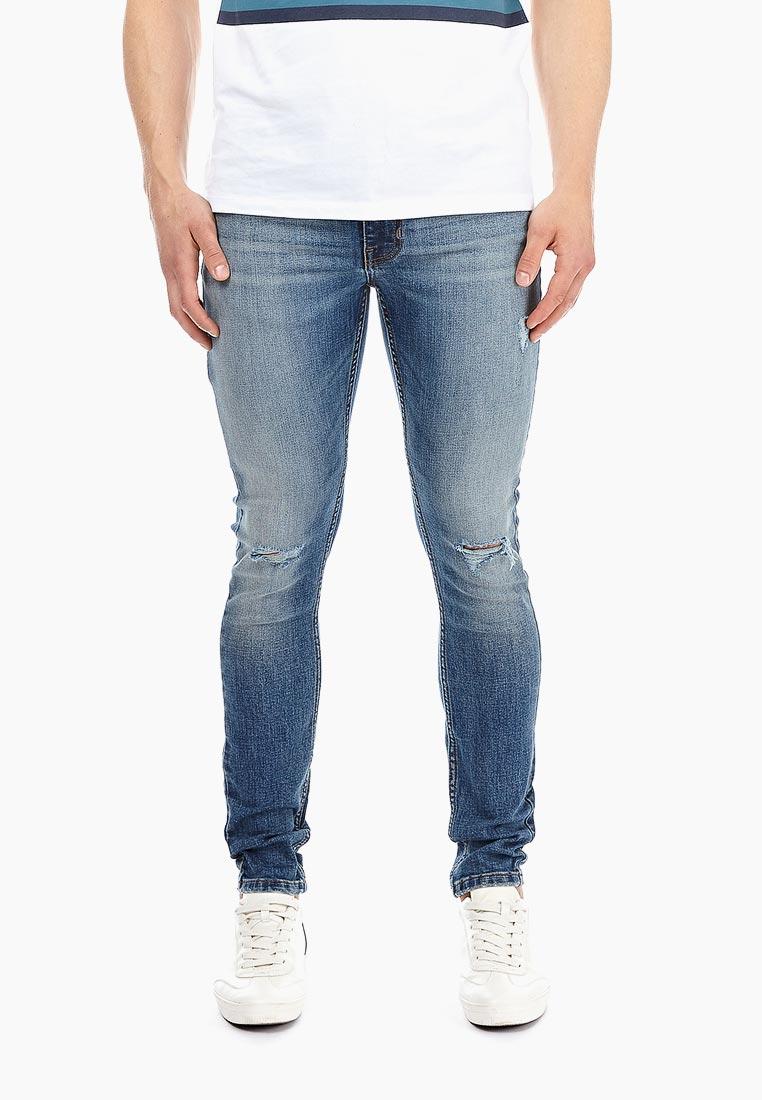 Зауженные джинсы Burton Menswear London 12P01NBLU