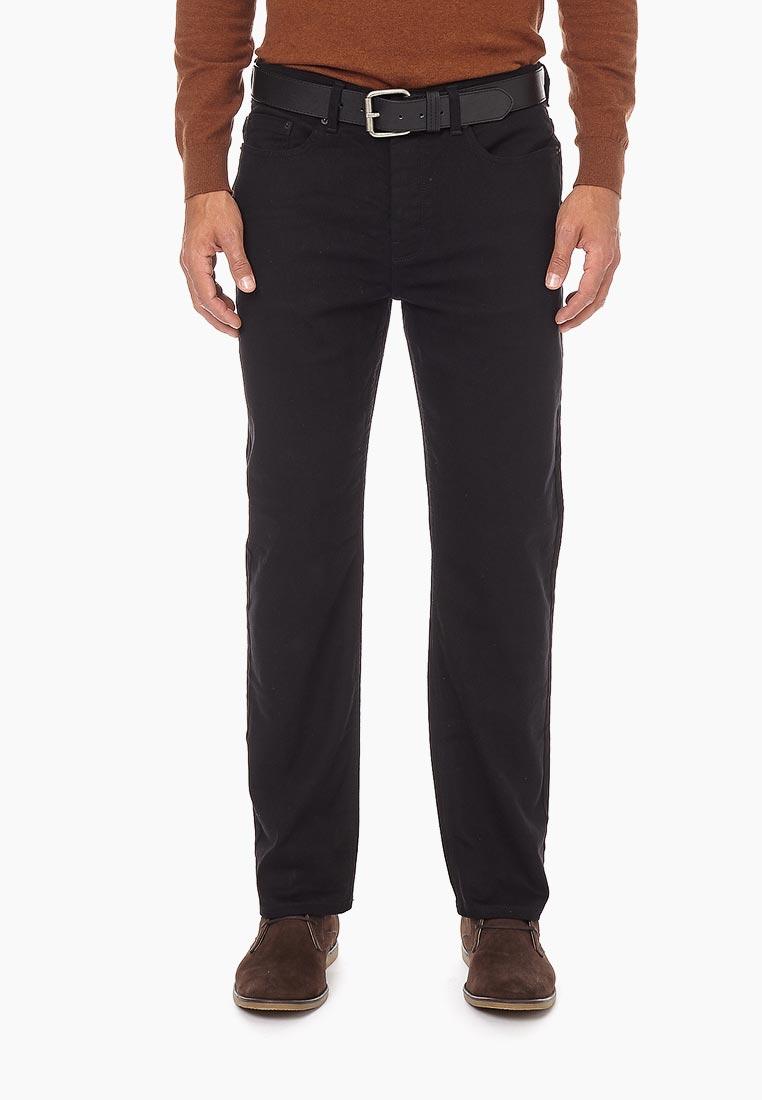 Мужские прямые джинсы Burton Menswear London 12T01NBLK