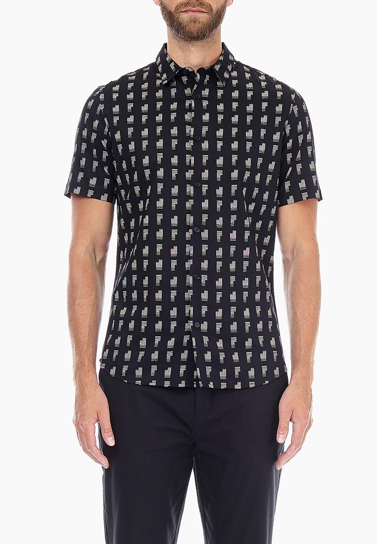 Рубашка с коротким рукавом Burton Menswear London (Бертон Менсвеар Лондон) 22P01NBLK