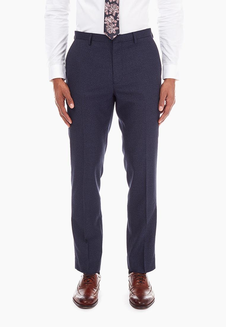 Мужские классические брюки Burton Menswear London 02S09NBLU