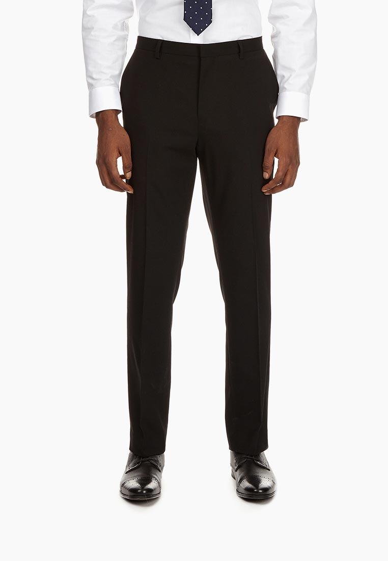 Мужские классические брюки Burton Menswear London 02S54LBLK