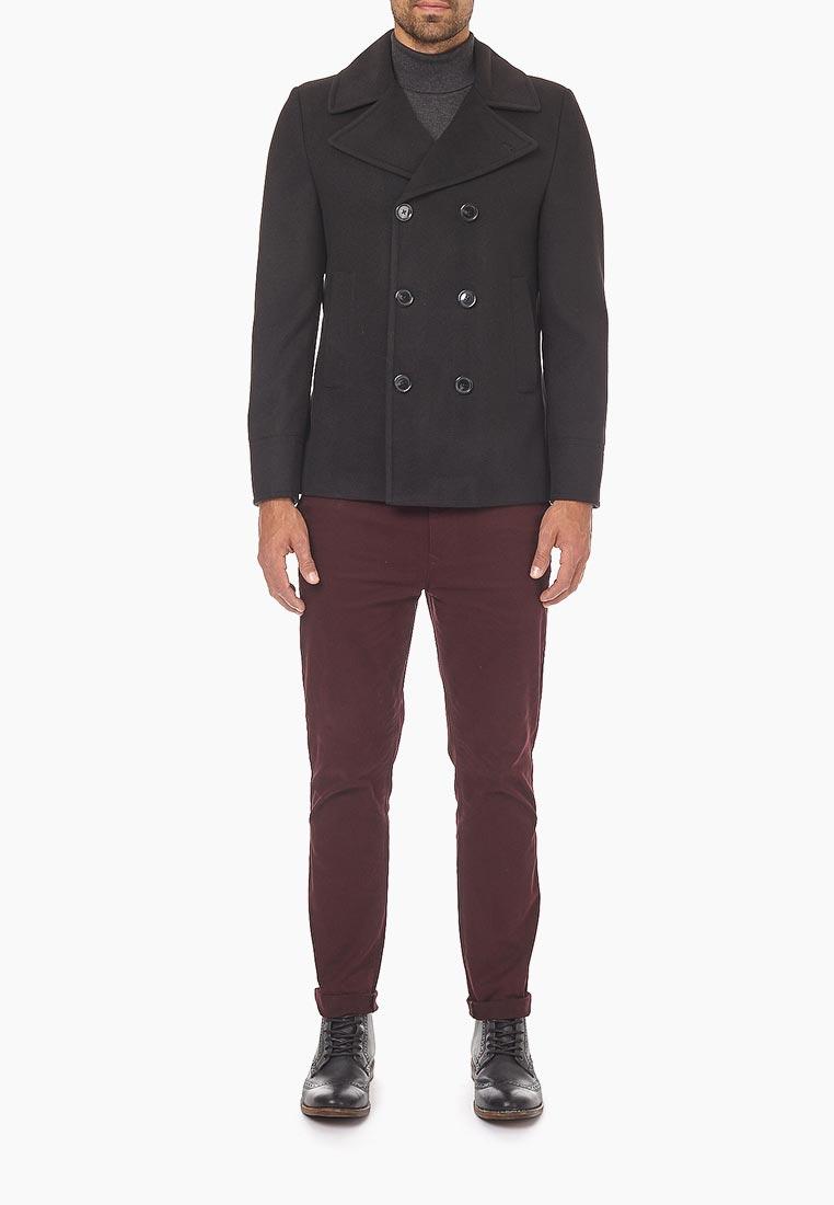 Мужские пальто Burton Menswear London (Бертон Менсвеар Лондон) 06W01MBLK
