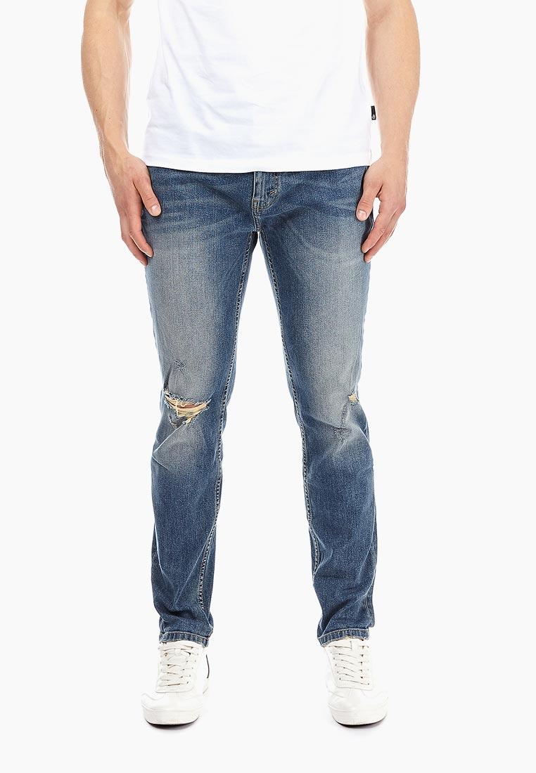 Зауженные джинсы Burton Menswear London 12A02NBLU