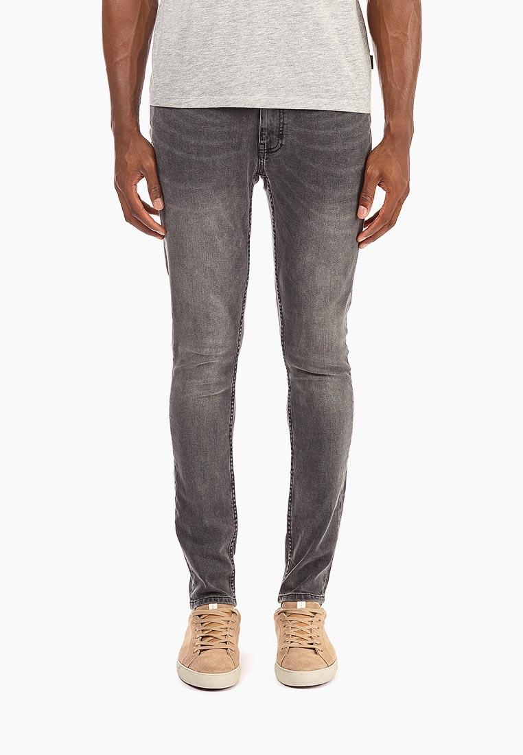 Зауженные джинсы Burton Menswear London 12S02NGRY