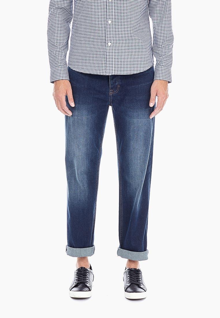 Мужские прямые джинсы Burton Menswear London 12T01NBLU