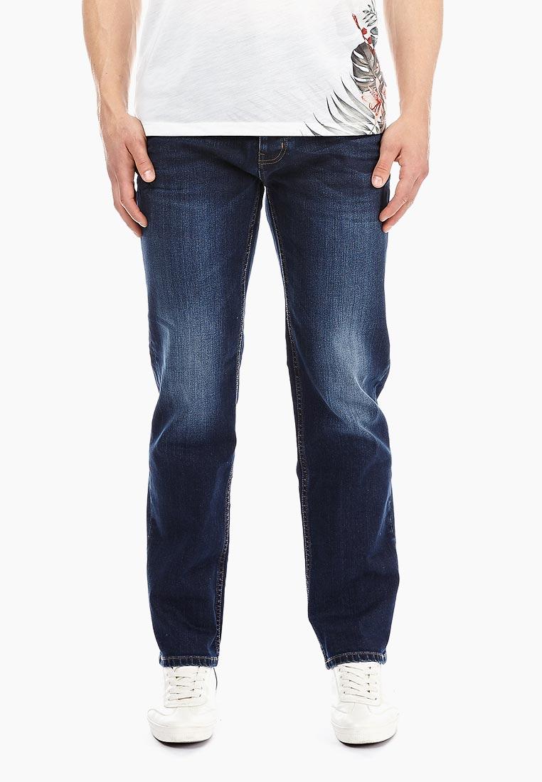 Мужские прямые джинсы Burton Menswear London 12T03NBLU