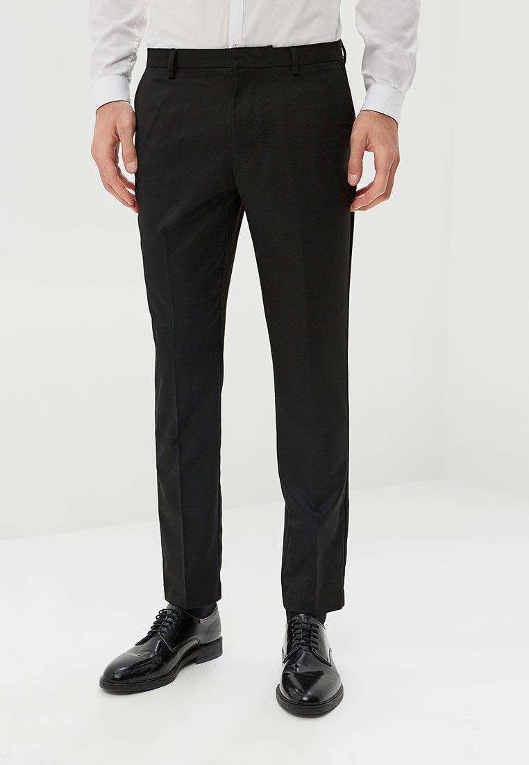 Мужские классические брюки Burton Menswear London 23K08NBLK