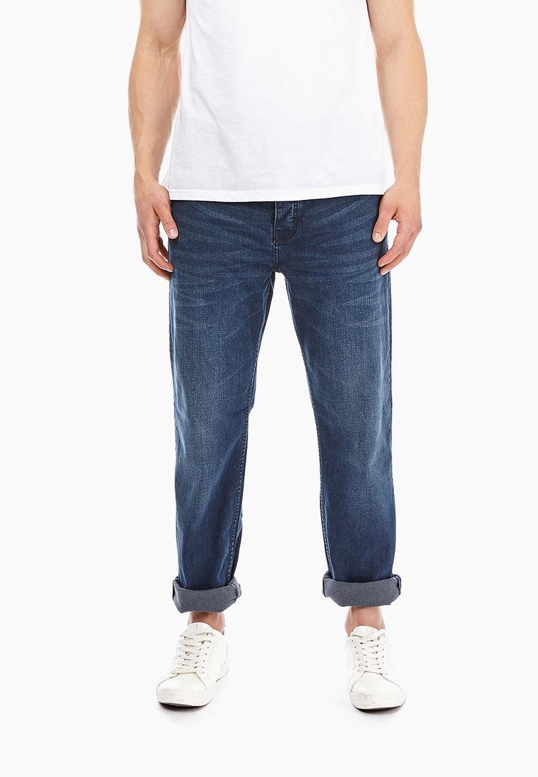 Мужские прямые джинсы Burton Menswear London 12T04NBLU